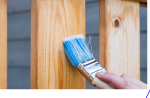 painting timber
